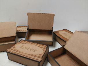 Cajas personalizadas - 15,00€