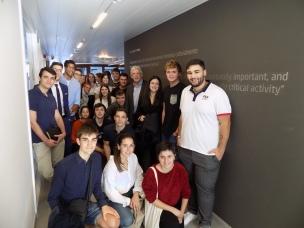 Estudiantes que participaron en el evento