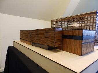 Maquetas Shigeru Ban Bienal 2017